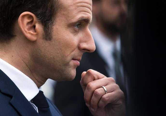 « Depuis Machiavel, il existe dans la société des intérêts et des positions irréconciliables, et il ne suffit pas de nier ces antagonismes pour les faire disparaître» (Photo: Emmanuel Macron, le 29 mai au château de Versailles).
