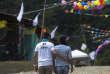 Célébrations pour le 53e anniversaire des FARC dans une «zone cantonale transitoire de normalisation» située à Gaitania, le 28 mai.