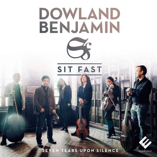Pochette de l'album consacré à John Dowland et à George Benjamin par l'ensemble Sit Fast.