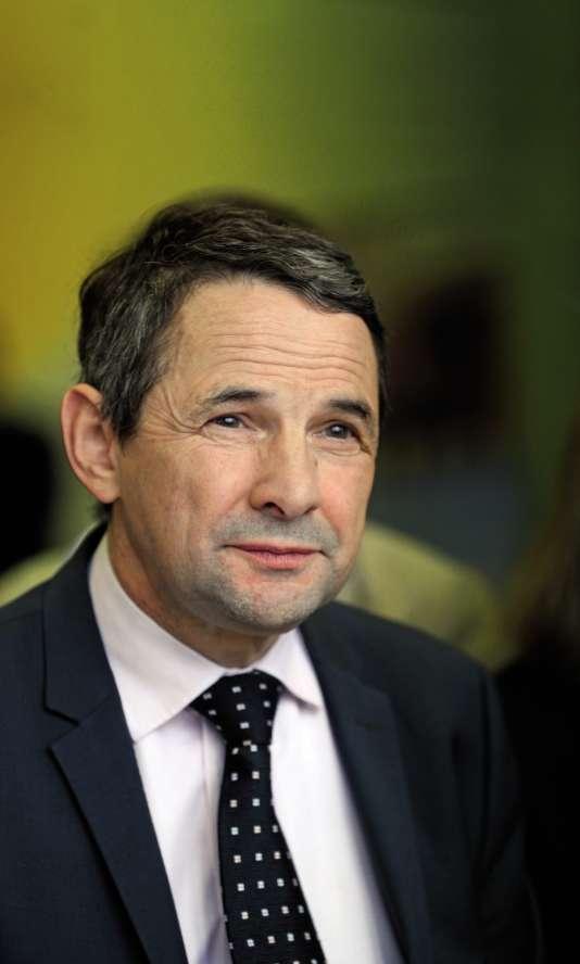 Thierry Mandon, ex-secréataire d'Etat à l'enseignement supérieur.