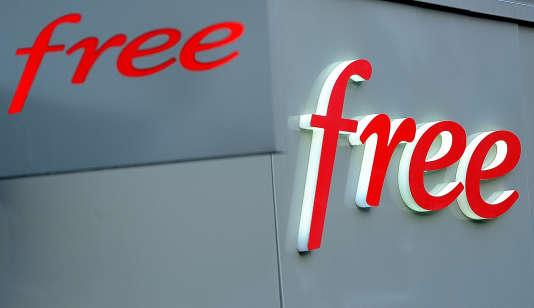 Le logo de l'opérateurFree. (Photo d'illustration)