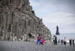 Les orgues basaltiques de la plage de Vik, en Islande. Plus d'un million de voyageurs devraient transiter par le village en 2017.