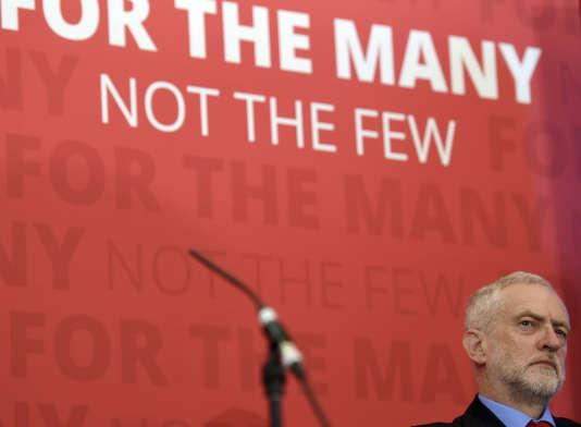 Le leader travailliste, Jeremy Corbyn, le 31 mai.