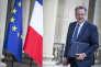 Richard Ferrand, ministre de la Cohésion des territoires, participe au Conseil des ministres au Palais de l'Elysée à Paris, jeudi 18 mai 2017