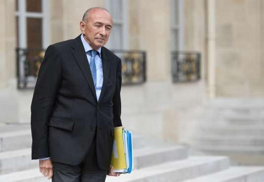 Gérard Collomb, le 31 mai 2017.