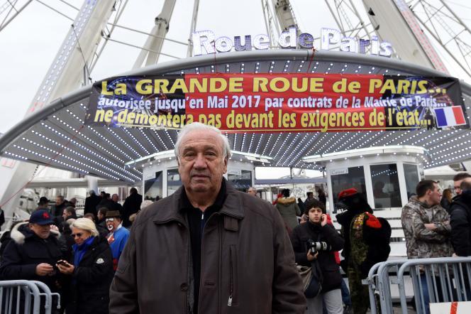 La grande roue de Marcel Campion– ici, le 24 novembre 2016– était loin de faire l'unanimité.