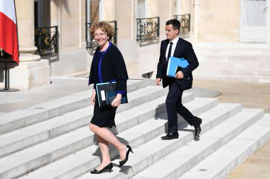 La ministre du travail, Muriel Pénicaud, le 31 mai à l'Elysée.