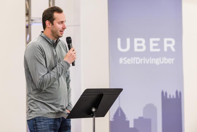 Anthony Levandowski est au cœur d'une bataille judiciaire entre Uber et Google, son ancien employeur, qui l'accuse d'avoir volé des secrets industriels. Ici, en septembre 2016.