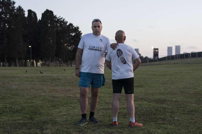 Vétéran de l'armée israélienne, Rami Yulzari a créé un groupe de course à pied àJérusalem pour remédier au syndrome de stress post-traumatique.