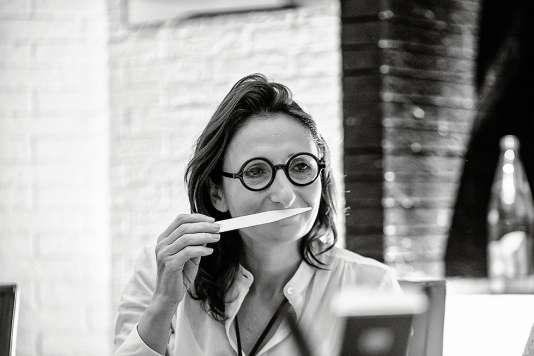 Anne-Sophie Picélabore ses plats en puisant dans sa mémoire olfactive.