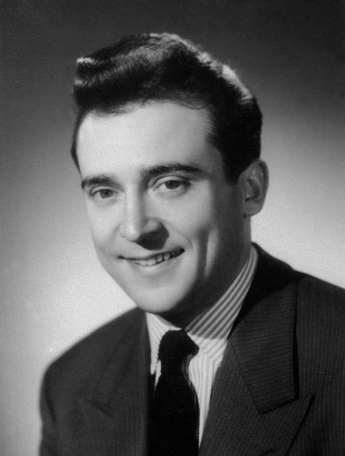 Jean-Marc Thibault, dans les années 1940, à Paris.