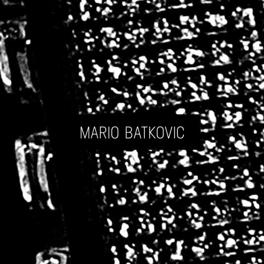 Pochette de l'album de Mario Batkovic.