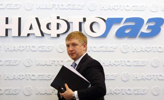 Andriy Kobolev, PDG de Naftogaz.