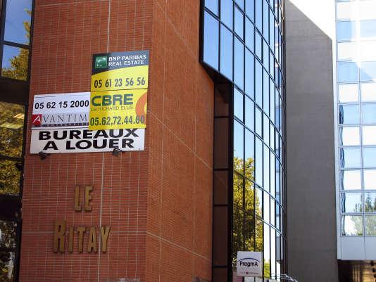 Bureaux à louer, à Toulouse.