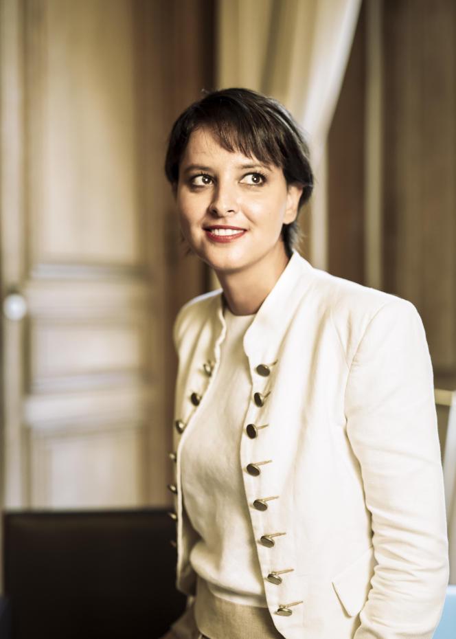 Najat Vallaud-Belkacem, au ministère de l'éducation nationale, le 29 août 2016.