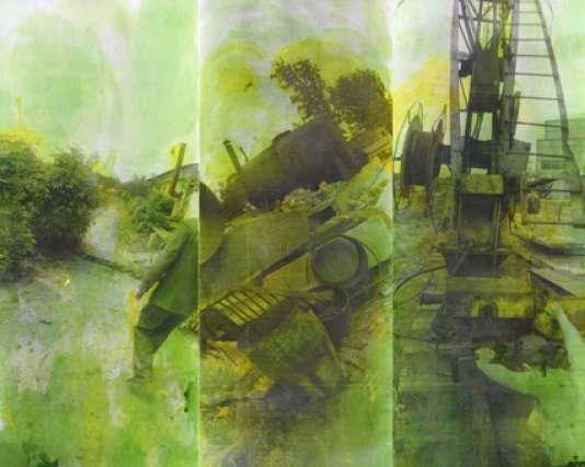 Boris Mikhailov, sans titre (Green Series), 1991-1993.