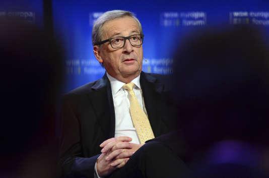 Le président de la Commission européenne Jean-Claude Juncker lors d'un forum à Berlin, le 1er juin 2017.