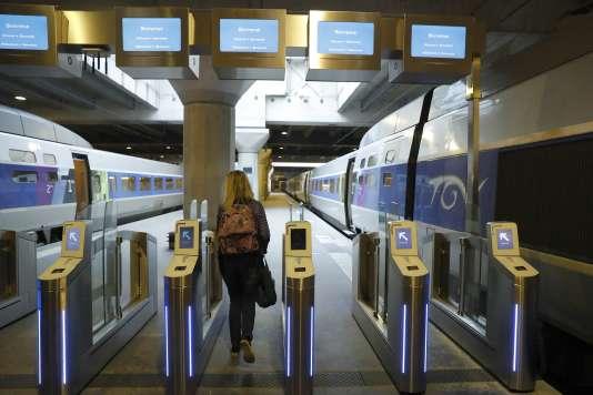 Gare Montparnasse, à Paris