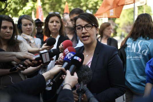 Cécile Duflot à Paris le 22 mai.