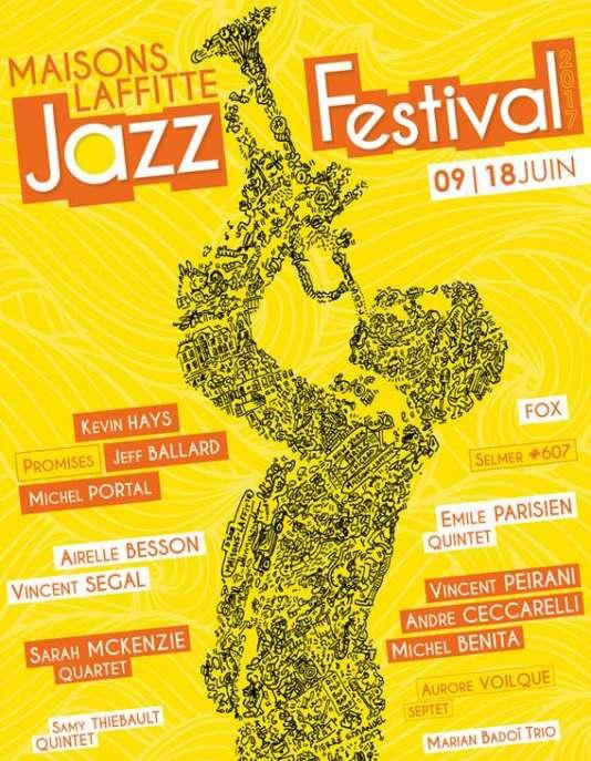 Le festival Jazz à Maisons-Laffitte, du 9 au 18 juin.
