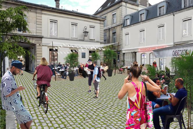 Le site de l'hôpital Saint-Vincent de Paul, repensé par l'atelier d'urbanisme Anyoji Beltrando.