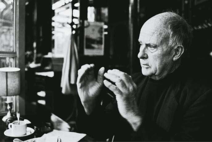 Jean Rouch en 1985, à Paris.
