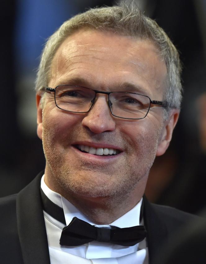 Laurent Ruquier le 19 mai 2016, à Cannes.