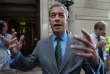 Nigel Farage, député européen etancien dirigeant du parti anti-Europe UKIP, à Londres, le 1er juin.