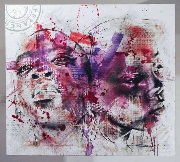 Oeuvre du Camerounais Jean-David Nkot.
