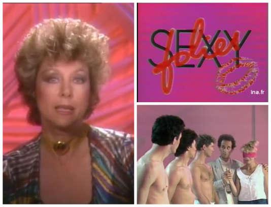 L'émission« Sexy Folies», présentée par France Roche, était diffusée sur Antenne 2 de 1986 à 1987.
