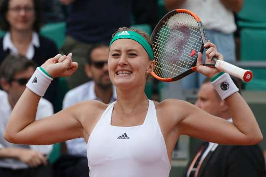 Kristina Mladenovic, le 2 juin.