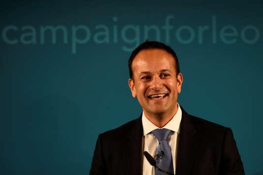 Leo Varadkar, 38 ans, a été désigné vendredi 2 juin chef du parti irlandais de Fine Gael (centre droit).