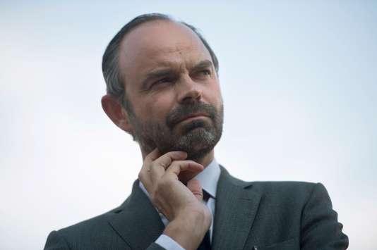 Edouard Philippe le 2 juin à Manosque, dans le département des Alpes-de-Haute-Provence.