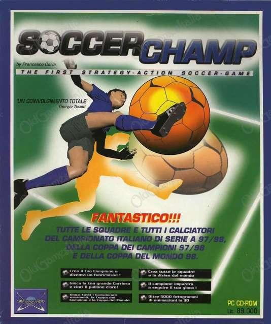 SoccerChamp, publié en 1997, sera le dernier jeu de football du leader italien du secteur, Simulmondo.