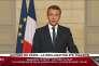 Intervention d'Emmanuel Macron depuis l'Elysée, à Paris, le 1er juin.