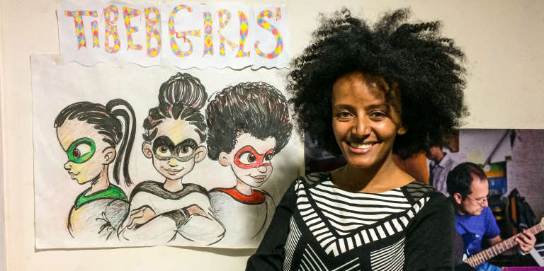 Bruktawit Tigabu, créatrice des Tibeb Girls.
