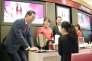 Le patron de Shiseido Masahiko Uotani dans le centre commercial Hankyu à Osaka (Japon), le 30 juillet 2014.