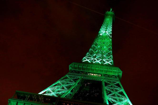 La tour Eiffel, à Paris, le 4 novembre 2016.