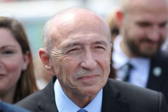 Gérard Collomb, le 3 juin à Nice.