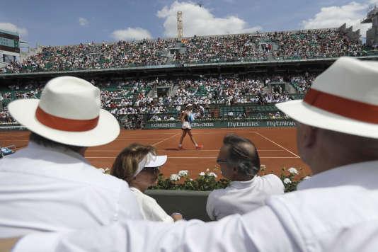 Spectateurs à Roland Garros, le 31 mai.