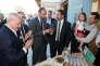 Edouard Philippe et Christophe Castaner visitent une biscuiterie à Manosque (Alpes de Haute-Provence), le 2 juin.