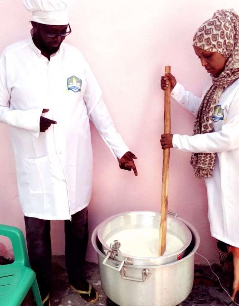 La fabrique de fromages Samira Soomaal.