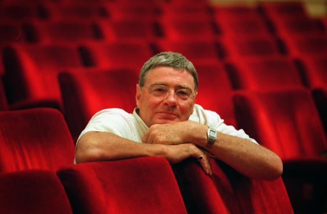 Le chef d'orchestre britannique Jeffrey Tate.