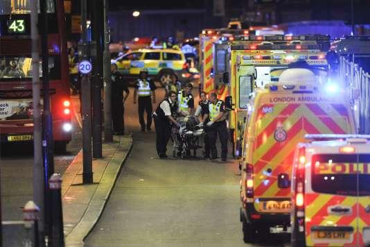 Après l'attentat de Londres du 3 juin, Aamaq, l'agence de propagande de l'EI,a indiqué, dans un communiqué, qu'ila été commis par « un détachement de l'Etat islamique».