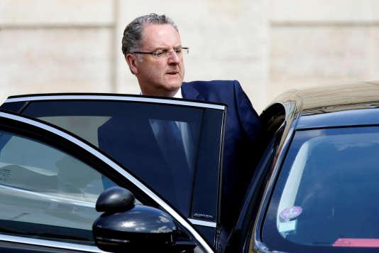 «Ce n'est pas une affaire de conflits d'intérêts privés et d'intérêts politiques, c'est une affaire de conflits d'intérêts privés, dont il appartiendra aux juges de dire s'ils sont constitués» (Le ministre de la cohésion des territoires Richard Ferrand au palais de l'Elysée le 31 mai).