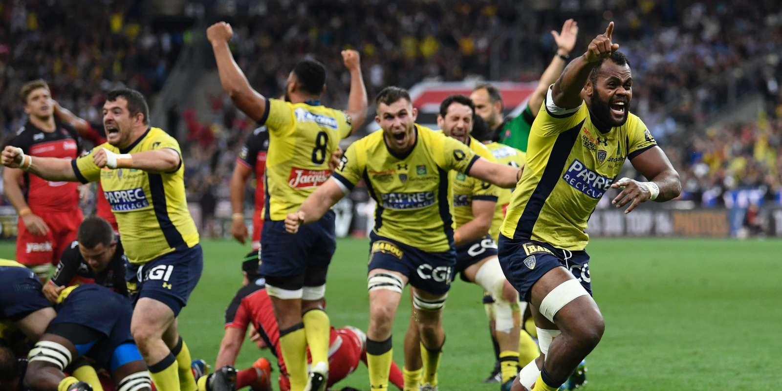 wholesale online outlet boutique fashion Rugby : Clermont remporte le titre de champion de France ...