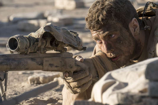 Aaron Taylor-Johnson dans « The Wall »,  film américain de Doug Liman.