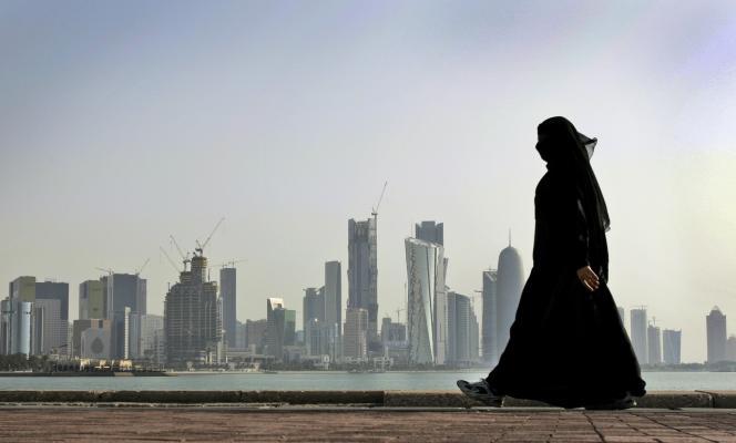 Le front de mer à Doha, le 5 juin.