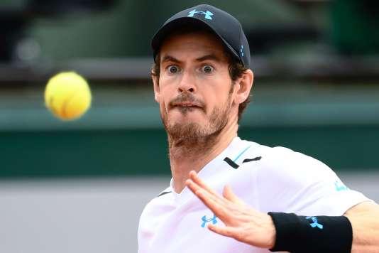 Andy Murray, le 5 juin à Paris.