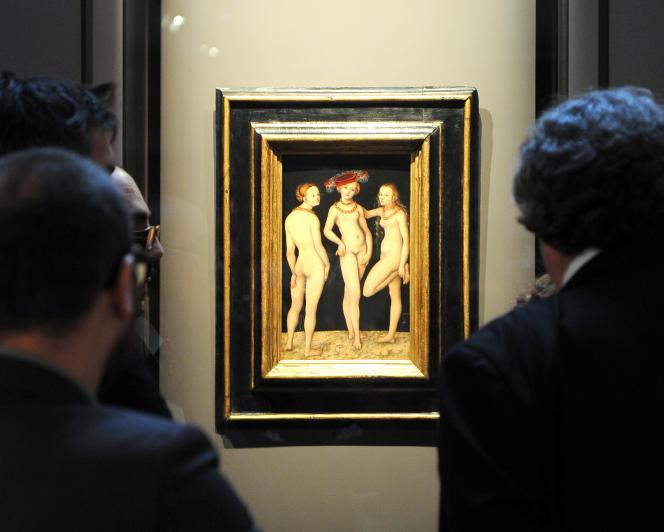 L'opération « Tous mécènes », initiée en 2010 par le Musée du Louvre a eu un résultat spectaculaire : 1 million d'euros recueillis pour acheter« Les Trois Grâces» de Cranach.